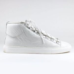 BALENCIAGA Lamb Leather Arena Sneakers